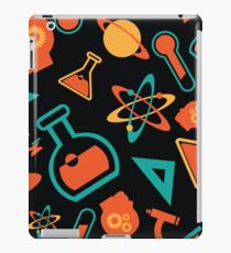 Science icons seamless pattern. iPad Case/Skin