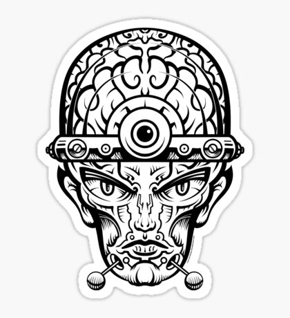Eye Don't Mind Sticker