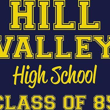 Hill Valley High School by LightningDes