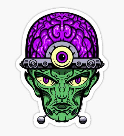 Eye Don't Mind - Full Color Jacket remix Sticker
