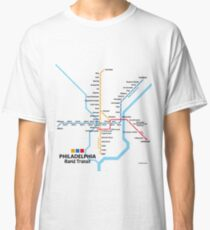 PHILADELPHIA Rapid Transit Network Classic T-Shirt