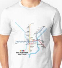 PHILADELPHIA Rapid Transit Network Unisex T-Shirt