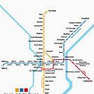 PHILADELPHIA Rapid Transit Network by UrbanRail