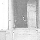 Penciled Door by Jessica Peck