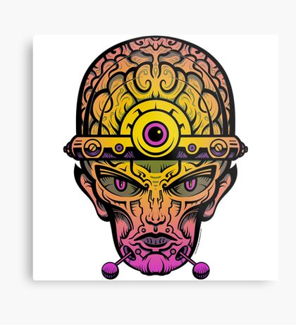 Eye Don't Mind - Alternative Fax remix Metal Print