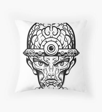Eye Don't Mind Throw Pillow