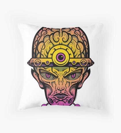 Eye Don't Mind - Alternative Fax remix Throw Pillow
