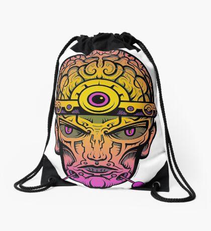 Eye Don't Mind - Alternative Fax remix Drawstring Bag