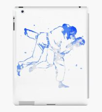 Painted Judo Throw (Judo / BJJ / Sambo) iPad Case/Skin