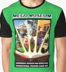 Mego Legends Monsters Pirates Knights Graphic T-Shirt