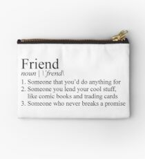 Stranger Things Friend Definition Studio Pouch