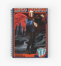 Mego Red Haired Dracula Spiral Notebook