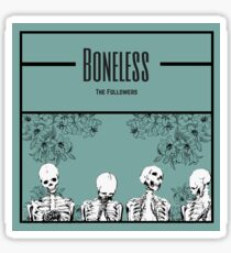The Followers Blue Boneless Design Sticker