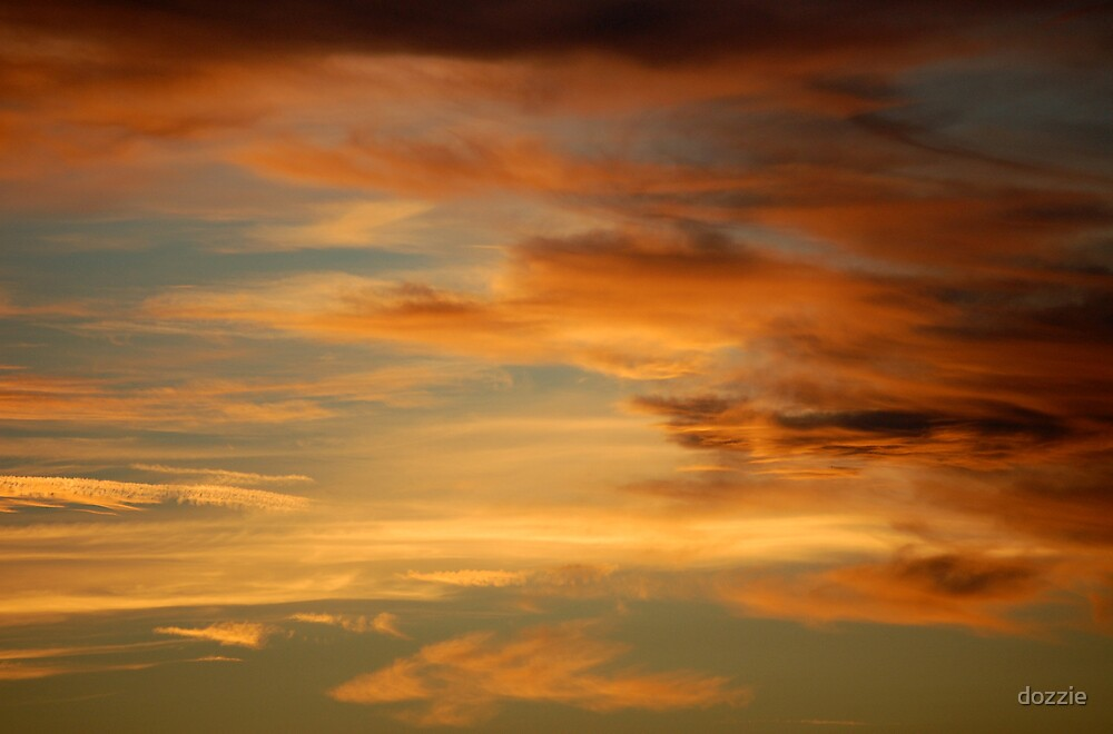 Sunset Sky by dozzie