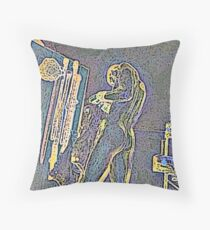 One Night Stand Throw Pillow