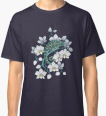 Chamäleons und Orchideen Classic T-Shirt