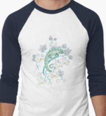 chameleons and orchids  Men's Baseball ¾ T-Shirt