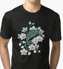 chameleons and orchids  Tri-blend T-Shirt