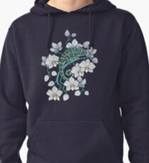 chameleons and orchids  Pullover Hoodie