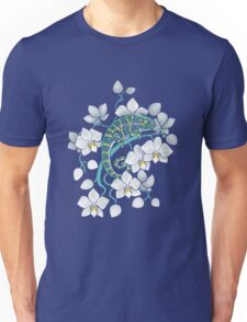 chameleons and orchids  Unisex T-Shirt