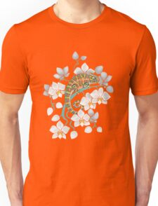 chameleons and orchids  Unisex T-Shirt