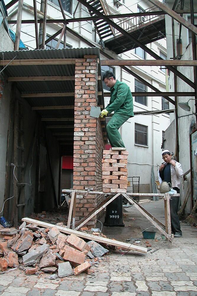 """""""Bricking it"""" by Geoff46"""