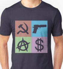 PCM LOGO MEME MINIMALISTIC (ANARCHY VERSION) Unisex T-Shirt
