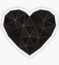 Kintsugi - Gold Rose Sticker