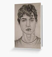 Augustus Waters Greeting Card