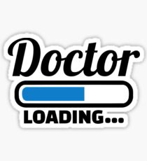 Doctor loading Sticker