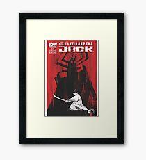 samurai jak yo Framed Print