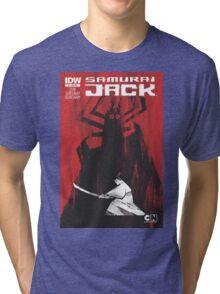 samurai jak yo Tri-blend T-Shirt