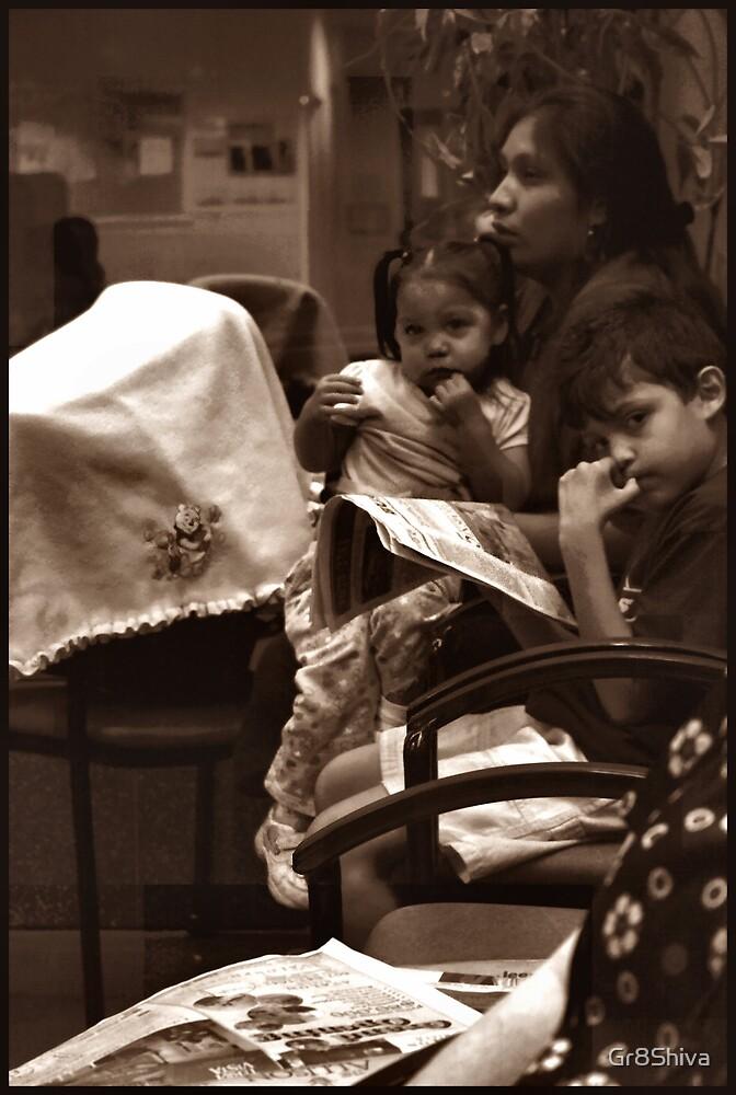 NAVAJO FAMILY WAITING 2 by Gr8Shiva