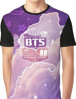 BTS - Cute Galaxy Graphic T-Shirt