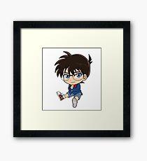 Conan Chibi Framed Print