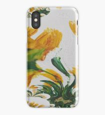 Yellow Tulip Fantasy iPhone Case