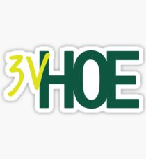 3V Hoe Sticker