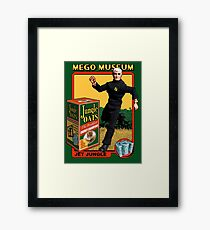 Mego Jet Jungle MegoMuseum Framed Print