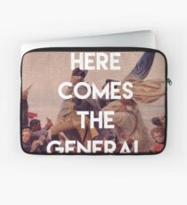 Here Comes the General - George Washington Laptop Sleeve