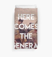 Here Comes The General George Washington Duvet Cover