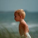 at the beach by Rob  McDonald