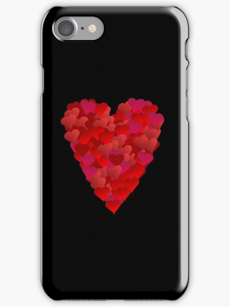 Heart of Hearts (iPhone/iPod case) by ScaleDesigns