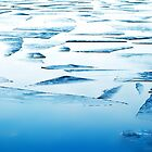 The broken Surface of Ice by Imi Koetz
