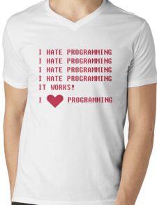I HATE PROGRAMMING Mens V-Neck T-Shirt