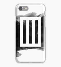 Paramore Bars // Watercolour iPhone Case/Skin