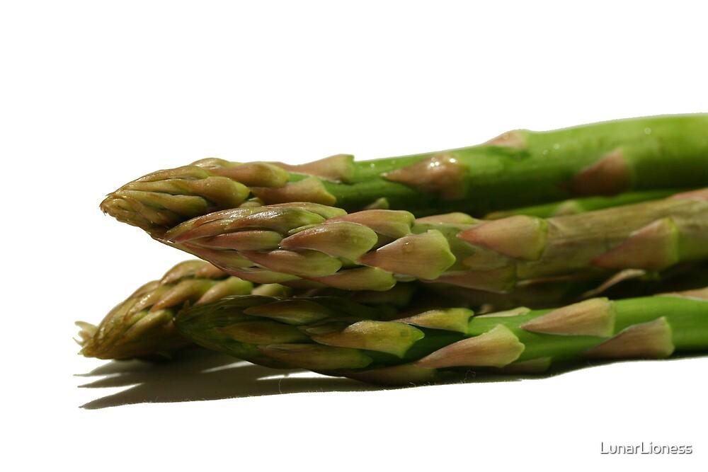 Fresh Asparagus by LunarLioness