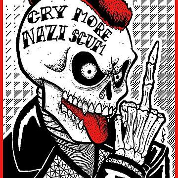 Llora más escoria nazi de ChrisJeffery