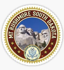 Mt. Rushmore Sticker