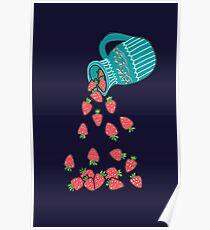 Strawberrys Jar Poster