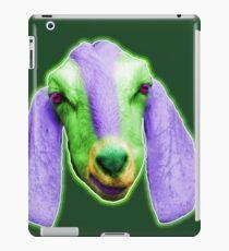 Billy Goat mit den purpurroten Ohren iPad-Hülle & Klebefolie